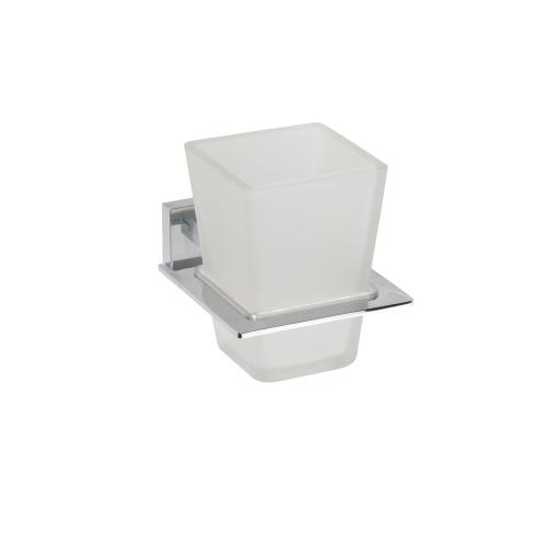 Plaza 118110052 ХромАксессуары для ванной<br>Держатель для стакана Bemeta Plaza 118110052.<br>