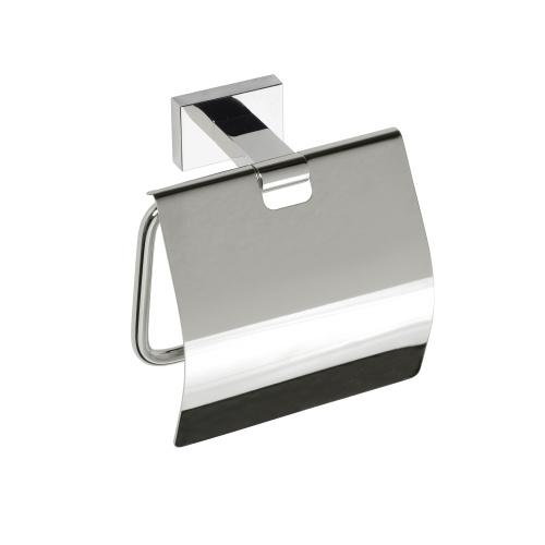 Plaza 118112012 ХромАксессуары для ванной<br>Держатель для туалетной бумаги Bemeta Plaza 118112012 с крышкой. Цвет хром.<br>