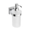 Beta 132109017 ХромАксессуары для ванной<br>Дозатор для жидкого мыла Bemeta Beta 132109017 стеклянный. Цвет хром.<br>