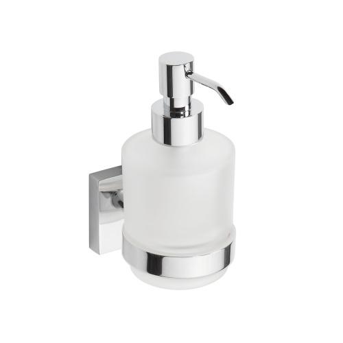 Beta 132109102 ХромАксессуары для ванной<br>Дозатор для жидкого мыла Bemeta Beta 132109102 настенный. Цвет хром.<br>