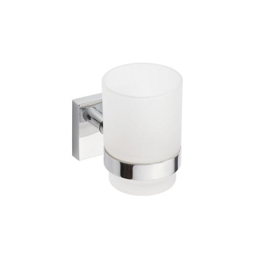 Beta 132110012 ХромАксессуары для ванной<br>Держатель для стакана Bemeta Beta 132110012 со стаканом из стекла. Цвет хром.<br>