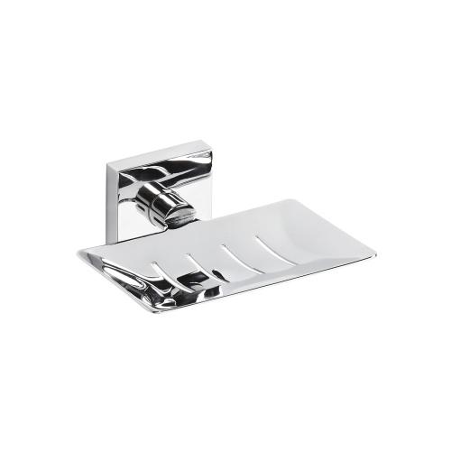 Beta 132208082 ХромАксессуары для ванной<br>Мыльница для ванной Bemeta Beta 132208082 прямоугольная. Цвет хром.<br>