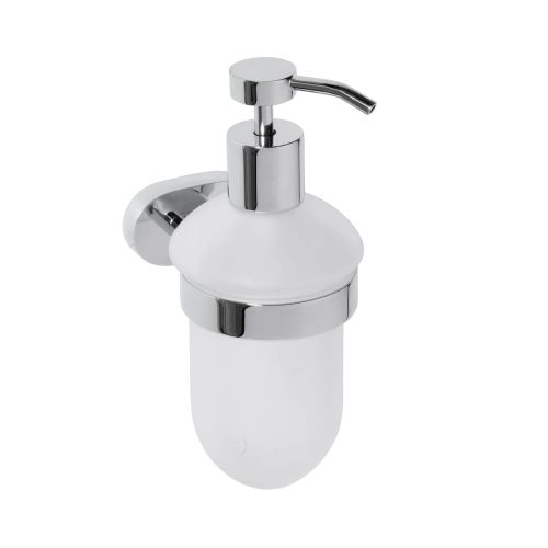 Oval 118409011 ХромАксессуары для ванной<br>Дозатор для жидкого мыла Bemeta Oval 118409011. Цвет хром.<br>
