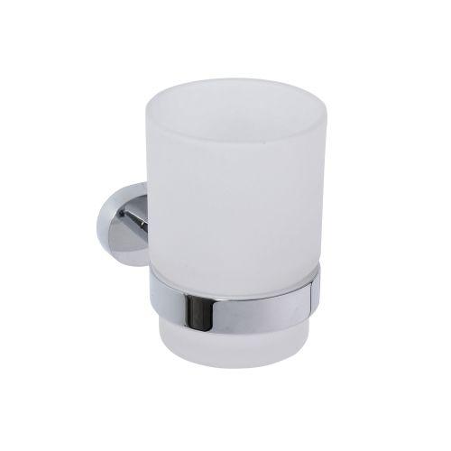 Oval 118410011 ХромАксессуары для ванной<br>Держатель для стакана Bemeta Oval 118410011. Цвет хром.<br>