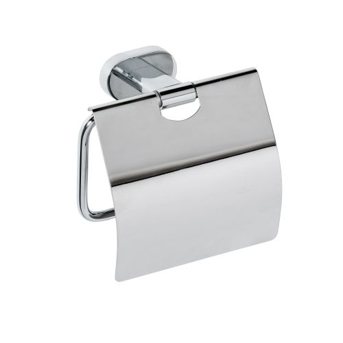 Oval 118412011 ХромАксессуары для ванной<br>Держатель для туалетной бумаги Bemeta Oval 118412011 с крышкой. Цвет хром.<br>