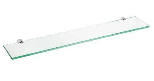 Alfa 102402242 ХромАксессуары для ванной<br>Полочка для ванной Bemeta Alfa 102402242 стеклянный. Цвет хром.<br>