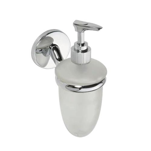 Alfa 102408022 ХромАксессуары для ванной<br>Дозатор для жидкого мыла Bemeta Alfa 102408022. Цвет хром.<br>