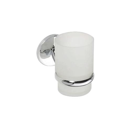 Alfa 102410012 ХромАксессуары для ванной<br>Держатель для стакана Bemeta Alfa 102410012 со стеклянным стаканом. Цвет хром.<br>