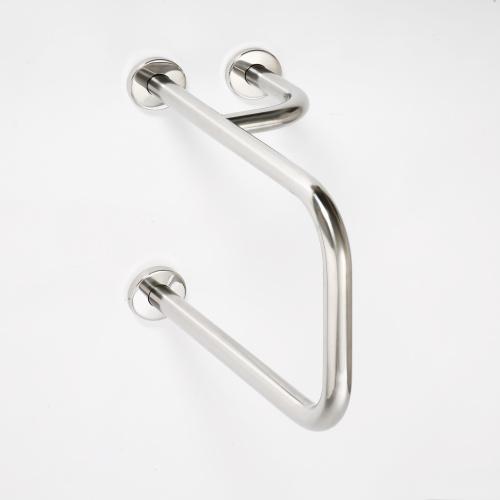 Help 301112101 Нержавеющая стальАксессуары для ванной<br>Поручень для умывальника Bemeta Help 301112101 с полотенцедержателем. Нержавеющая сталь<br>