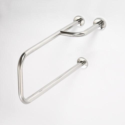 Help 301112151 Нержавеющая стальАксессуары для ванной<br>Поручень опорный Bemeta Help 301112151 левый. Нержавеющая сталь<br>