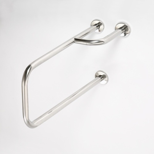 Help 301112152 Нержавеющая стальАксессуары для ванной<br>Поручень опорный Bemeta Help 301112152  левый. Нержавеющая сталь.<br>