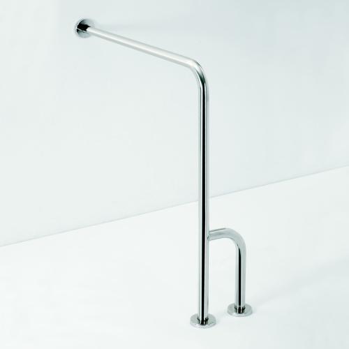 Help 301122142 Нержавеющая стальАксессуары для ванной<br>Поручень опорный Bemeta Help 301122142 правый. Нержавеющая сталь.<br>