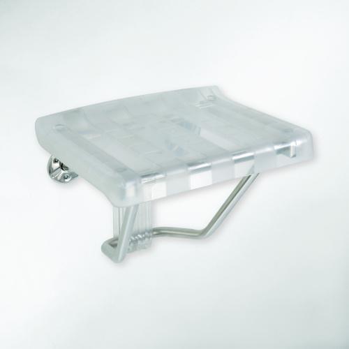 Help 326325056 ПрозрачныйАксессуары для ванной<br>Сиденье для душа Bemeta Help 326325056 откидное прозрачное.<br>