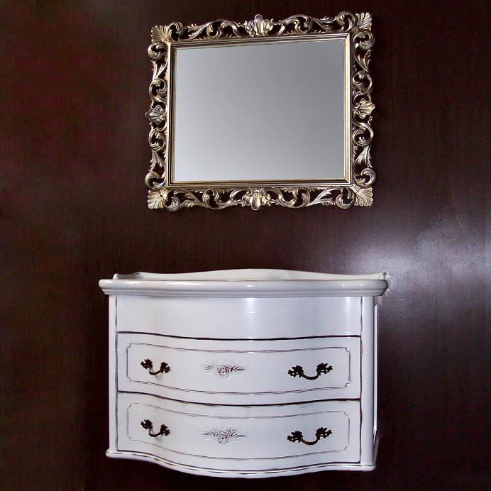 Armony 7224 S подвесная Tinta mokaМебель для ванной<br>TW Armony 7224/S тумба под раковину. Стоимость указана за подвесную тумбу без раковины, цвет: tinta moka, ручки бронза. Раковина и зеркало приобретаются отдельно.<br>