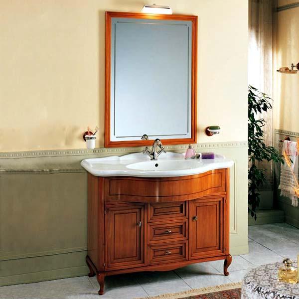 Dover напольная Noce biondoМебель для ванной<br>TW Firenze 7025/D тумба под раковину. Стоимость указана за напольную тумбу без раковины, цвет: noce biondo (светлый орех), ручки и петли хром. Раковина и зеркало приобретаются отдельно.<br>