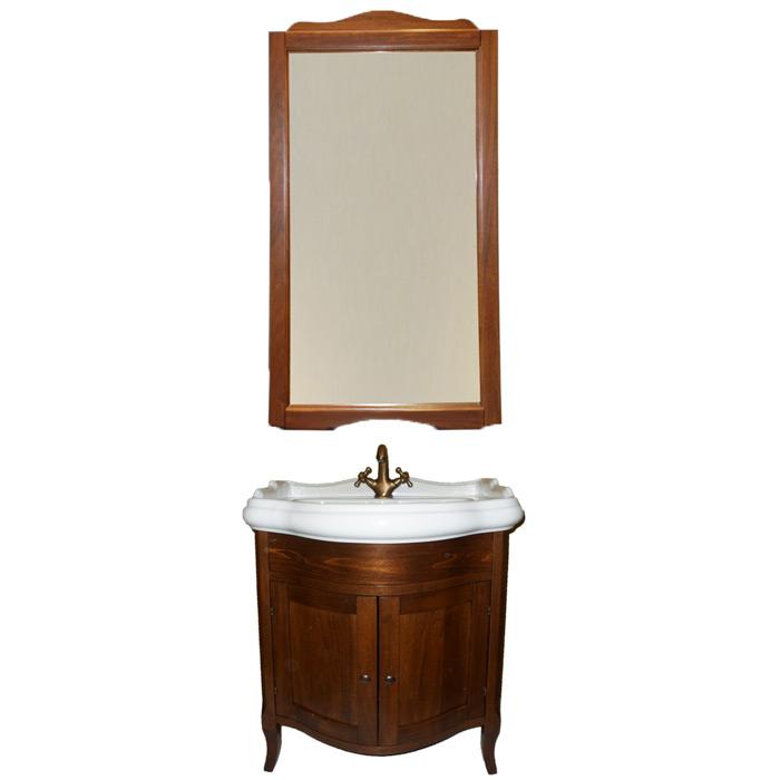 Sofia 69 Bianco opacoМебель для ванной<br>TW Sofia 69 тумба под раковину. Стоимость указана за напольную тумбу без раковины, цвет: bianco opaco (белый матовый). Раковина, зеркало и светильники приобретаются отдельно.<br>