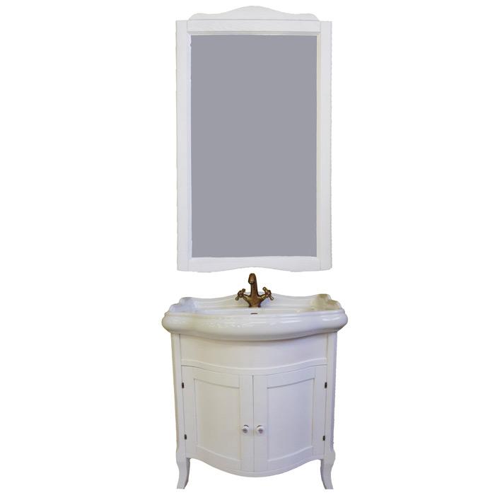Sofia 73 Bianco decapeМебель для ванной<br>TW Sofia 73 тумба под раковину. Стоимость указана за напольную тумбу без раковины, цвет: bianco decape (белая структура). Раковина и зеркало приобретаются отдельно.<br>