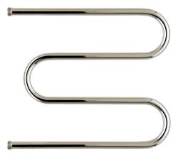 Полотенцесушитель Стилье М-образный 500х650 резьба-сгон Хром