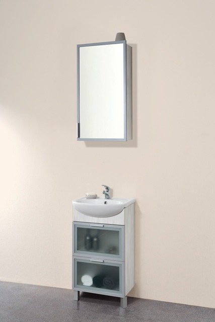 Нью-Йорк 55 с 2 ящиками МалибуМебель для ванной<br>Тумба напольная Нью-Йорк 485x305x810 мм, с двумя выдвижными ящиками. В стоимость входит только тумба, дополнительно вы можете приобрести раковину и зеркальный шкаф.<br>