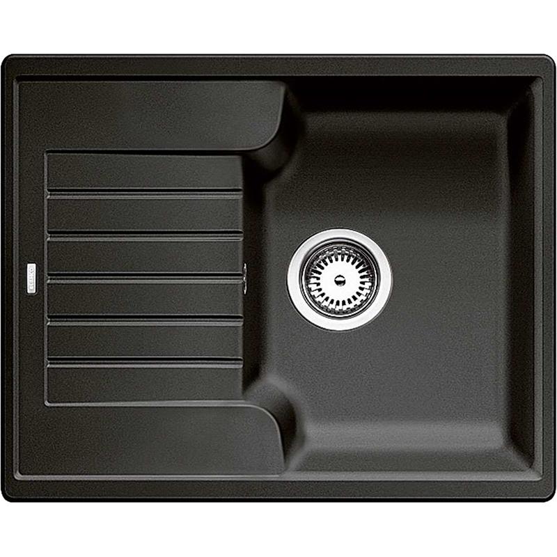 Zia 40S МускатКухонные мойки<br>Кухонная мойка Blanco Zia 40S 521957.<br><br><br>Оборачиваемая кухонная мойка в современном дизайне с преобладанием прямых линий. По периметру она обрамлена тонким кантом и имеет функциональное крыло. Мойка отлично впишется в интерьер любой кухни.<br><br><br><br>Материал Silgranit PuraDur устойчив к механическим воздействиям и высоким температурам.<br>Стойкость к загрязнению и простота в уходе.<br>Непористая структура поверхности.<br>Монтаж: встраиваемый сверху или снизу.<br>Размер чаши (ШxГ): 33.5 x 45 см.<br>Поверхность мойки обладает антибактериальными свойствами.<br>Слив-перелив.<br>Два размеченных отверстия под смеситель.<br><br><br><br>Объем поставки: чаша мойки, корзинчатый вентиль (3.5 дюйма),  отводная арматура.<br>