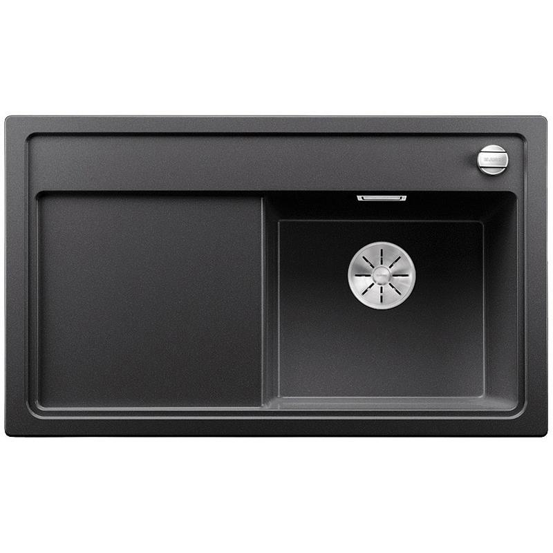 Zenar 45S чаша справа ЖемчужнаяКухонные мойки<br>Кухонная мойка Blanco Zenar 45S 523712.<br><br><br>Кухонная мойка в современном дизайне с преобладанием прямых линий. По периметру она обрамлена тонким кантом и имеет функциональное крыло. Мойка отлично впишется в интерьер любой кухни.<br><br><br><br>Материал Silgranit PuraDur устойчив к механическим воздействиям и высоким температурам.<br>Стойкость к загрязнению и простота в уходе.<br>Непористая структура поверхности.<br>Монтаж: встраиваемый сверху или снизу.<br>Размер чаши (ШxГ): 40 x 34.5 см.<br>Размер монтажного отверстия (ШxГ): 84 x 49 см.<br>Поверхность мойки обладает антибактериальными свойствами.<br>Слив-перелив C-overflow.<br>4 размеченных отверстия под смеситель.<br><br><br><br>Объем поставки: чаша мойки, клапан-автомат (3.5 дюйма),  отводная арматура InFino, разделочная доска.<br>