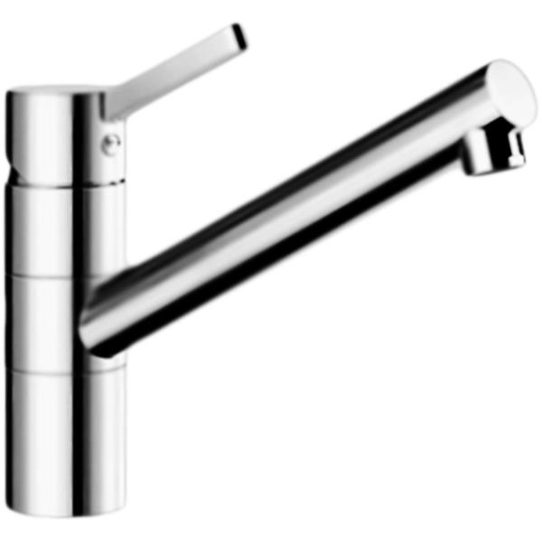 Kano ХромСмесители<br>Смеситель для кухни Blanco Kano 521502 однорычажный, с поворотным изливом, с аэратором, монтируемый в одно отверстие. Изящный и эстетичный дизайн. Эргономичный рычаг управления. Смеситель очень удобен для небольших и компактных раковин.<br>Конструкция:                 <br><br>Цвет: глянцевый хром.<br>Материал корпуса: латунь.<br>Поворотный излив: 360 градусов, L 21,9 см.<br>Высота смесителя: 19,9 см.<br>Аэратор: запатентованный рассекатель, защита от отложения налета.<br>Механизм: дисковый керамический картридж.<br>Монтаж: на одно отверстие, D 3,5 см.<br>Стабилизирующая пластина: увеличение устойчивости.<br>Подводка: гибкая, с гайкой, G 3/8, L 35 см.<br>Легкость и безопасность в установке.<br><br>В комплекте поставки:<br><br>смеситель;<br>гибкая подводка;<br>комплект креплений.<br><br>