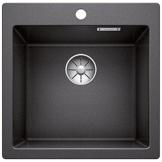 Pleon 5 Серый бежКухонные мойки<br>Кухонная мойка Blanco Pleon 5 521675.<br><br><br>Кухонная мойка коллекции Pleon выполнена в современном дизайне с преобладанием прямых линий. На площадке для смесителя предусмотрено место для размещения аксессуаров или установки дополнительных  комплектующих. Мойка отлично впишется в интерьер любой кухни.<br><br><br><br>Материал Silgranit PuraDur устойчив к механическим воздействиям и высоким температурам.<br>Стойкость к загрязнению и простота в уходе.<br>Непористая структура поверхности.<br>Монтаж: встраиваемый сверху или снизу.<br>Размер чаши (ШxГ): 44.5 x 40 см.<br>Размер монтажного отверстия (ШxГ): 49.5 x 49 см.<br>Поверхность мойки обладает антибактериальными свойствами.<br>Слив-перелив.<br>1 готовое и 2 размеченных отверстия под смеситель.<br><br><br><br>Объем поставки: чаша мойки, корзинчатый вентиль InFino (3.5 дюйма),  отводная арматура.<br>