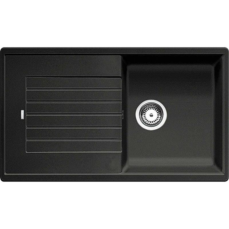 Zia 5S ЖасминКухонные мойки<br>Кухонная мойка Blanco Zia 5S 520516.<br><br><br>Оборачиваемая кухонная мойка коллекции Zia выполнена в современном дизайне с преобладанием прямых линий. По периметру она обрамлена тонким кантом и имеет функциональное крыло с канавками для стока воды. Мойка отлично впишется в интерьер любой кухни.<br><br><br><br>Материал Silgranit PuraDur устойчив к механическим воздействиям и высоким температурам.<br>Стойкость к загрязнению и простота в уходе.<br>Непористая структура поверхности.<br>Монтаж: встраиваемый сверху или снизу.<br>Размер чаши (ШxГ): 39 x 45 см.<br>Размер монтажного отверстия (ШxГ): 84 x 48 см.<br>Поверхность мойки обладает антибактериальными свойствами.<br>Слив-перелив.<br>Два размеченных отверстия под смеситель.<br><br><br><br>Объем поставки: чаша мойки, корзинчатый вентиль (3.5 дюйма),  отводная арматура.<br>
