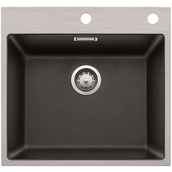 Кухонная мойка Blanco Subline 500-IF/A SteelFrame Антрацит фото