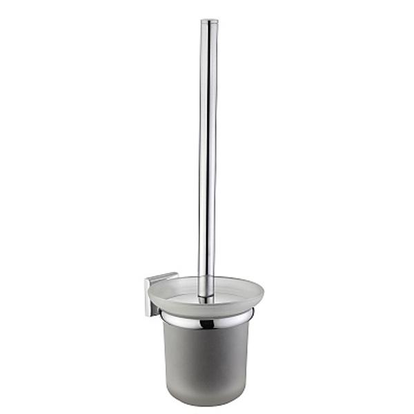 Labrador LABSMG0M47 ХромАксессуары для ванной<br>Настенный ершик для унитаза Milardo Labrador LABSMG0M47.<br>Выполнен в лаконичном современном стиле. Станет изящным дополнением любой ванной комнаты.<br>Держатель с рукояткой изготовлен из высококачественного сплава металлов с никель-хромовым покрытием, которое придает изделиям высокую влаго- и износостойкость, что обеспечивает их долгий срок службы.<br>Колба изготовлена из матового стекла. Особенностью является наличие уплотнительной прокладки, которая надежно фиксирует емкость в держателе, а также предохраняет стекло от появления царапин.<br>Монтаж скрытый - шурупами к стене, не требует профессиональных навыков и знаний.<br>Габариты (ШхВхГ): 16 х 36 х 13,2 см.<br>В комплекте поставки: ершик, колба, держатель, крепеж.<br>