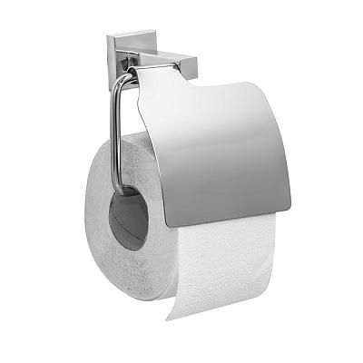 Держатель туалетной бумаги Milardo Labrador LABSMC0M43 с крышкой Хром