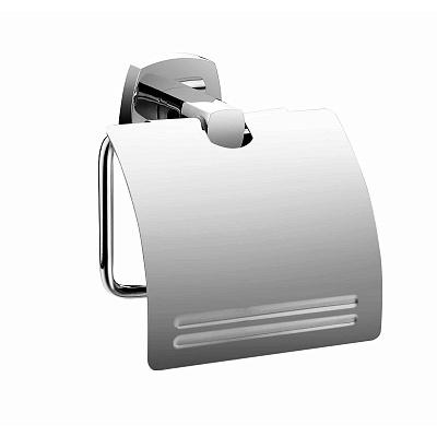 Volga VOLSMC0M43 с крышкой ХромАксессуары для ванной<br>Держатель туалетной бумаги Milardo Volga VOLSMC0M43 с крышкой.<br>Выполнен в лаконичном современном стиле. Станет изящным дополнением любой ванной комнаты за счет плавных линий и закругленных углов элементов конструкции.<br>Держатель изготовлен из прочного сплава металлов с никель-хромовым покрытием, которое придает изделиям высокую влаго- и износостойкость, что обеспечивает их долгий срок службы.<br>Монтаж скрытый - шурупами к стене, не требует профессиональных навыков и знаний.<br>Габариты (ШхВхГ): 13,3 х 12,4 х 5,4 см.<br>В комплекте поставки: держатель, крепеж.<br>