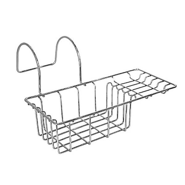 301W000M44 ХромАксессуары для ванной<br>Полка корзина на борт ванны Milardo 301W000M44.<br>Функциональная полка выполнена в лаконичном современном стиле. Станет изящным дополнением любой ванной комнаты за счет плавных линий и закругленных углов элементов конструкции.<br>Полка выполнена из качественной проволочной стали толщиной до 5 мм со стойким никель-хромовым покрытием, что наделяет изделие антикоррозийными свойствами и позволяет сохранить зеркальный глянцевый блеск в течение всего срока эксплуатации. Очень практичная и надежная конструкция позволяет с комфортом разместить принадлежности для ванной и туалета.<br>Монтаж: подвесной на борт ванны.<br>Габариты корзины (ШхВхГ): 27,5 х 7,1 х 12,3 см.<br>В комплекте поставки: полка.<br>