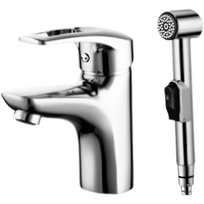 Смеситель для раковины Iddis Carlow Plus CRPSB00i08 с гигиеническим душем Хром смеситель для раковины с гигиеническим душем iddis carlow plus crpsb00i08