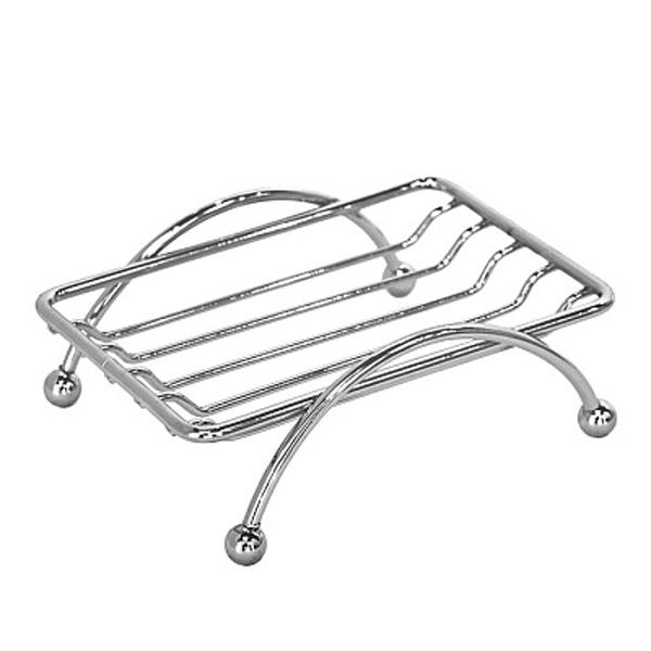 007W000M42 ХромАксессуары для ванной<br>Настольная мыльница решетка Milardo 008W000M42 прямоугольной формы.<br>Мыльница выполнена в лаконичном современном стиле. Станет изящным дополнением любой ванной комнаты за счет плавных линий и закругленных углов элементов конструкции.<br>Изготовлена из качественной проволочной стали толщиной до 5 мм со стойким никель-хромовым покрытием, что наделяет изделие антикоррозийными свойствами и позволяет сохранить зеркальный глянцевый блеск в течение всего срока эксплуатации.<br>Монтаж - настольный на ножках.<br>Габариты (ШхВхГ): 12 х 4,5 х 9 см.<br>В комплекте поставки: мыльница, крепеж.<br>