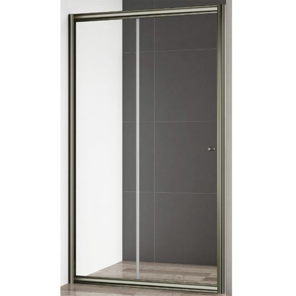 Giubileo BF 120 профиль Бронза стекло прозрачноеДушевые ограждения<br>Душевая дверь Cezares Giubileo BF 120 профиль Бронза (GIUBILEO-BF-1-120-C-Br).<br>Конструкция с одной раздвижной дверцей и универсальной ориентацией станет прекрасным дополнением любой ванной комнаты. Превосходно будет сочетаться в интерьере современного или ретро стиля.<br><br>Форма конструкции: прямоугольная.<br>Полотно двери изготовлено из прозрачного закаленного и безопасного стекла толщиной 6 мм.<br>Профиль выполнен из анодированного алюминия с покрытием бронзового цвета, что является отличным способом противостоять ржавчине.<br>Дверь герметично закрывается за счет магнитного уплотнителя и крепится с помощью двойных подшипниковых роликов повышенной надежности, выполненных в металлическом корпусе, что гарантирует исправную работу в течении всего срока эксплуатации.<br>Габариты (ШхВ): 120 х 195 cм.<br>Ширина входного проема: 49 см.<br>Профиль регулируется по ширине: +- 3 см (117,5 - 120,5 см).<br>Монтаж осуществляется в нишу или душевой уголок (установка на поддон или на пол, оборудованный для душа).<br><br>В комплекте поставки: душевая дверь, крепежные элементы, инструкция.<br>