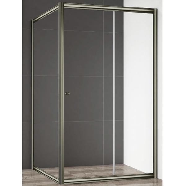 Giubileo Fix-Skorrevole 90 профиль Бронза стекло прозрачноеДушевые ограждения<br>Душевая стенка Cezares Giubileo Fix-Skorrevole 90 профиль Бронза (GIUBILEO-FIX-90-SCORREVOLE-C-Br).<br>Конструкция с универсальной ориентацией станет прекрасным дополнением любой ванной комнаты. Визуально легкая и прочная душевая стенка Giubileo – совершенное качество и превосходный дизайн.<br><br>Форма конструкции: прямоугольная.<br>Полотно стенки изготовлено из прозрачного закаленного и безопасного стекла толщиной 6 мм.<br>Профиль выполнен из анодированного алюминия с покрытием бронзового цвета, что является отличным способом противостоять ржавчине.<br>Установлены высокоэластичные герметизирующие уплотнители с удлиненным сроком службы.<br>Габариты (ШхВ): 90 х 195 cм.<br>Профиль регулируется по ширине: +/- 1,5 см (88,5 - 90 см).<br>Монтаж осуществляется либо на поддон, либо на пол, оборудованный для душа.<br><br>В комплекте поставки: душевая стенка, крепежные элементы, инструкция.<br>