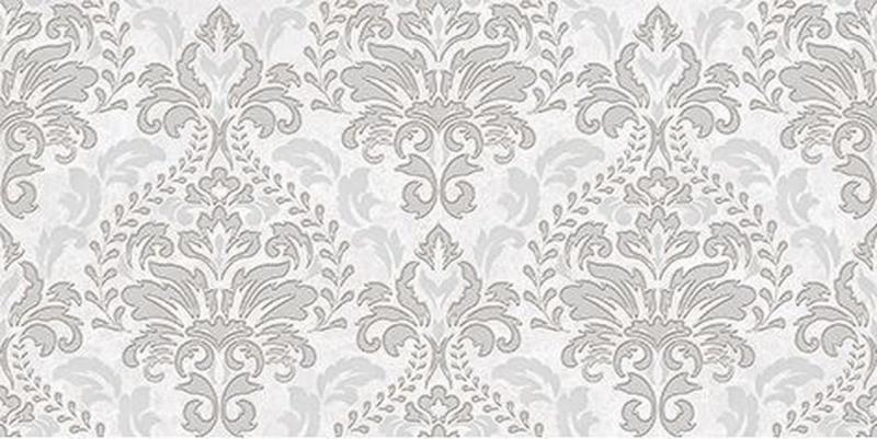 Керамический декор Ceramica Classic Afina Damask серый 08-03-06-456 20х40 см недорого