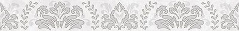 Керамический бордюр Ceramica Classic Afina Damask серый 56-03-06-456 5х40 см недорого