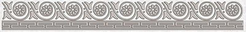 Керамический бордюр Ceramica Classic Afina серый 56-03-06-425 5х40 см недорого