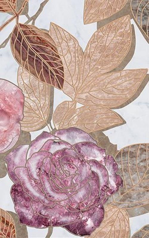 купить Керамический декор Ceramica Classic Argos flowers-2 25х40 см дешево