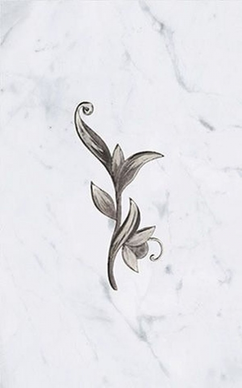Керамический декор Ceramica Classic Argos nero 25х40 см стоимость