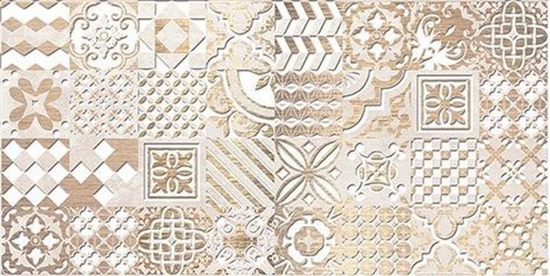 Керамический декор Ceramica Classic Bastion бежевый 08-03-11-454 20х40 см керамический декор ceramica classic мармара паттерн серый 17 03 06 616 20х60 см