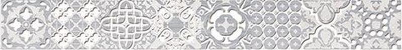 Керамический бордюр Ceramica Classic Bastion серый 46-03-06-454 4,7х40 см керамический бордюр ceramica classic versus chic розовый 46 03 41 1335 4х40 см