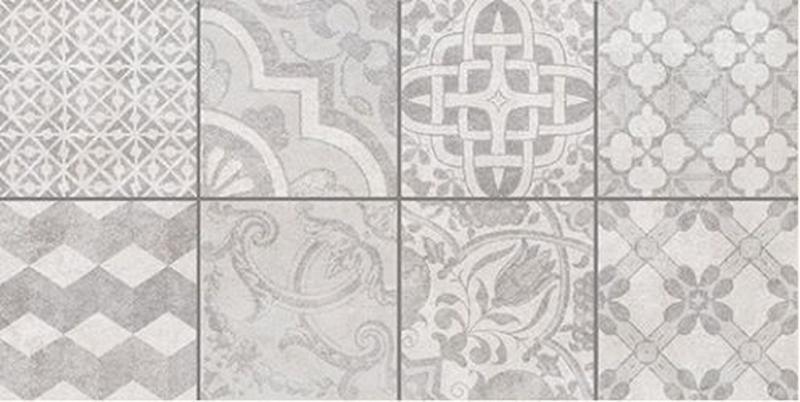 Керамический декор Ceramica Classic Bastion с пропилами под мозаику серый 08-03-06-453 20х40 см стеклянная вставка ceramica classic мармара пальмира комплект серый 3шт компл 5 5х16 5 см