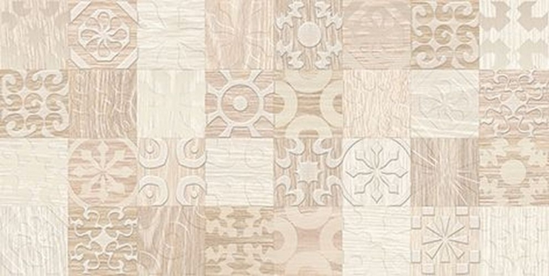 Керамический декор Ceramica Classic Platan бежевый 08-03-11-429 20х40 см керамический декор ceramica classic мармара паттерн серый 17 03 06 616 20х60 см