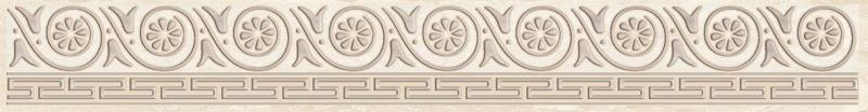 Керамический бордюр Ceramica Classic Persey бежевый 56-03-11-497 5х40 см керамический декор ceramica classic мармара паттерн серый 17 03 06 616 20х60 см
