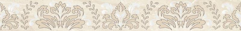 Фото - Керамический бордюр Ceramica Classic Persey Damask бежевый 56-03-11-456-3 5х40 см керамический бордюр ceramica classic buhara бежевый 10х25 см