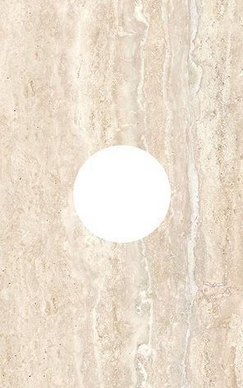 Керамический декор Ceramica Classic Efes круг d10 25х40 см