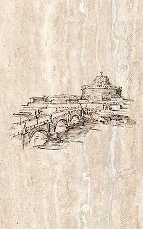 Фото - Керамический декор Ceramica Classic Efes coliseum-3 Сastle 25х40 керамическое панно ceramica classic efes coliseum 40х50 см